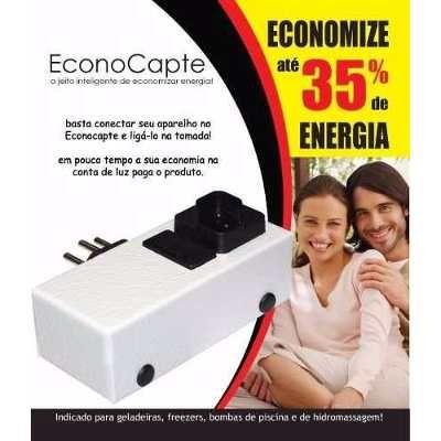 Redutor De Energia Inteligente Econocapte Até 35% Economia