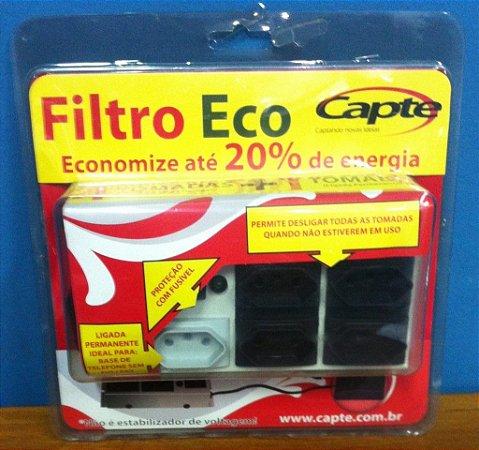 Filtro De Linha Eco Régua De Tomadas 4+1 – Capte