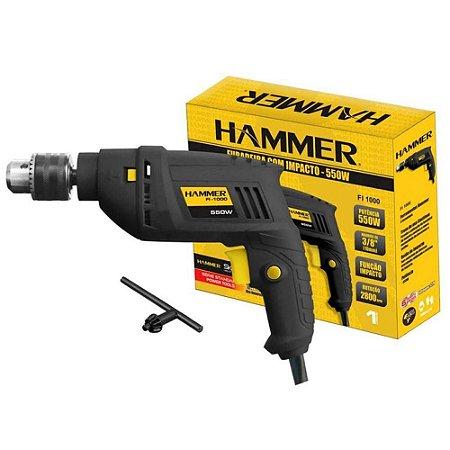 Furadeira De Impacto Hammer 550w profissional