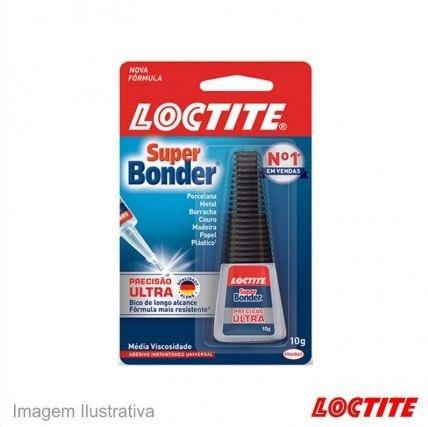 Cola Super Bonder Loctite Forte Alta Resistência Aderência 10G