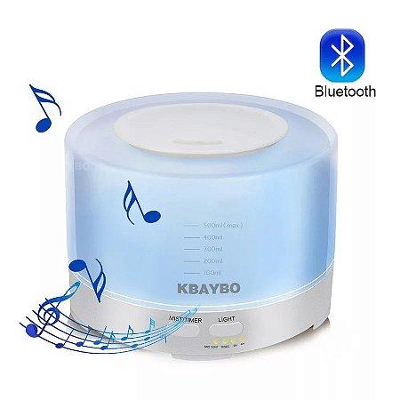 Umidificador de Ar Ultra Aroma Elétrica Difusor de Aroma com Bluetooth