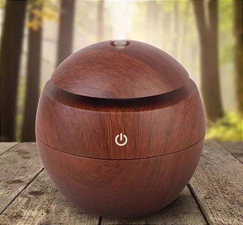 Difusor umidificador  madeira