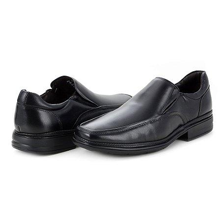 Sapato Social Masculino Savelli De Couro 6010 Preto - Super Liquidação