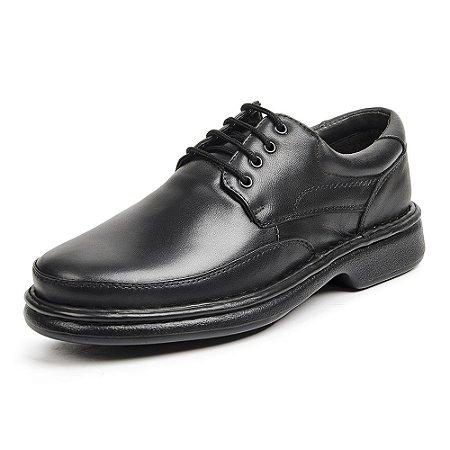 Sapato Social Masculino De Couro Legítimo 6032 Preto - Super Liquidação