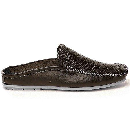 1311aec505 Compre Agora Babuche Masculino de Couro - Comfort Shoes