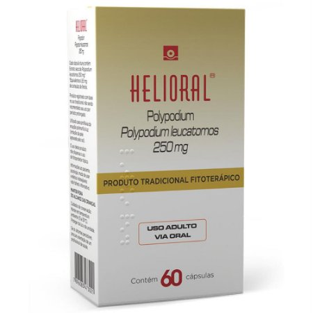 HELIORAL 250MG 60 CAPSULAS