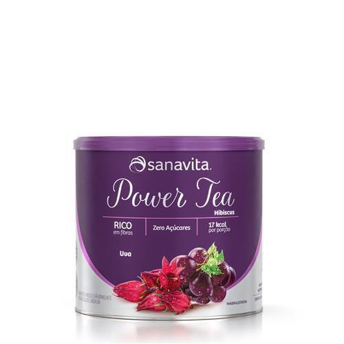 POWER TEA SANAVITA SABOR UVA 200GR