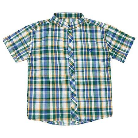 Camisa Look Jeans Gola Portuguesa Xadrez