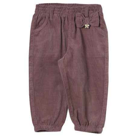 Calça Look Jeans Veludo Roxo