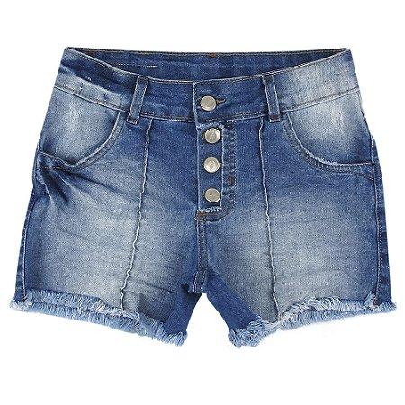 Shorts PopStar Nervura Azul
