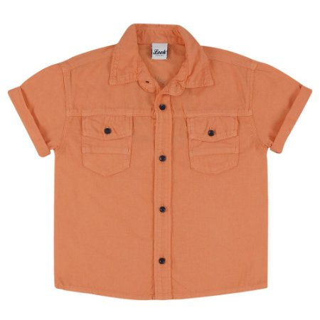 Camisa Look Jeans Tecido Collor