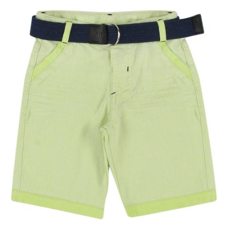 Shorts Look Jeans c/ Cinto Collor