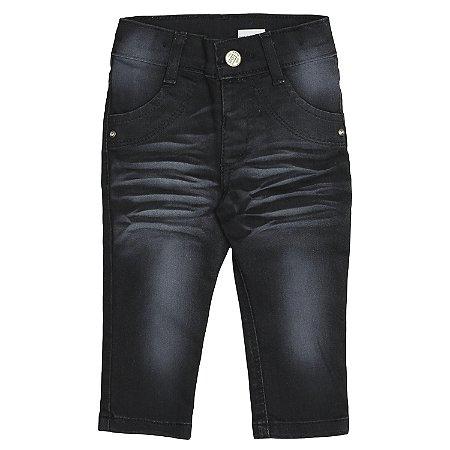 Calça Look Jeans Skinny Black