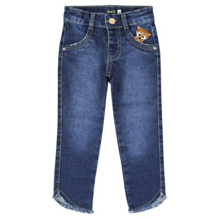 Calça Look Jeans Skinny Jeans
