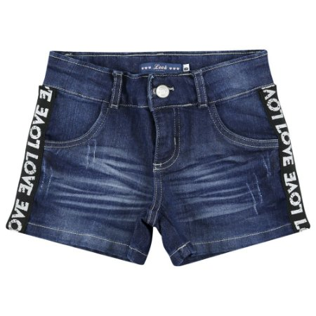 Shorts Look Jeans c/ Galão Jeans