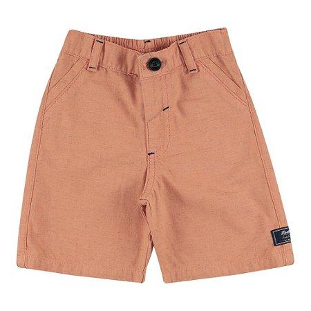 Shorts Look Jeans Alfaiataria Collor
