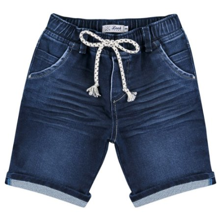 Shorts Look Jeans Moletom Jeans
