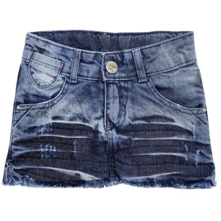 Saia Juvenil Look Jeans c/ Prensa Jeans