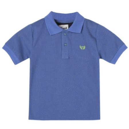 Camiseta Infantil Look Jeans Polo