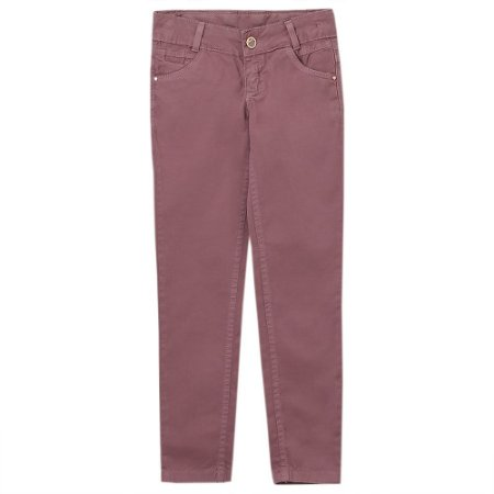 Calça Juvenil Look Jeans Skinny Collor
