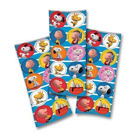 Adesivo Festcolor Redondo Snoopy