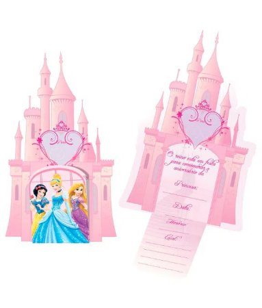 Convite Princesas Debut