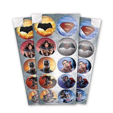 Adesivo Festcolor Batman Vs Superman