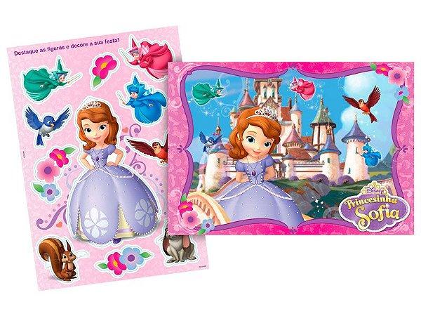Kit Decorativo Regina Princesa Sofia