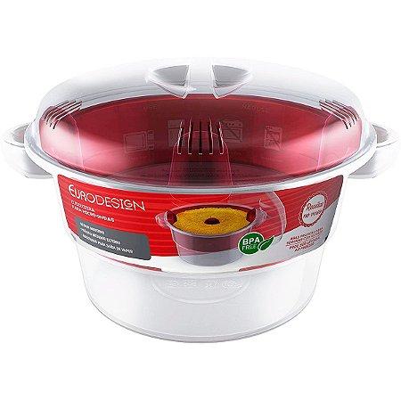 Panela de Cuscuz Para Microondas – BPA Free