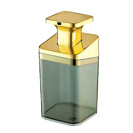 Porta Sabonete Líquido Acrílico Premium Saboneteira Transparente Banheiro UZ