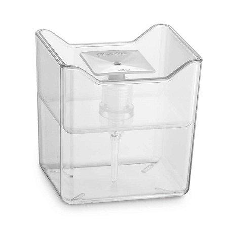 Porta Detergente Econômico Organizador Dispenser Dosador Cozinha Pia 500ml Transparente