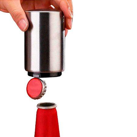 Abridor De Garrafas De Cerveja Magnético Abre Fácil Inox Click Easy Opener