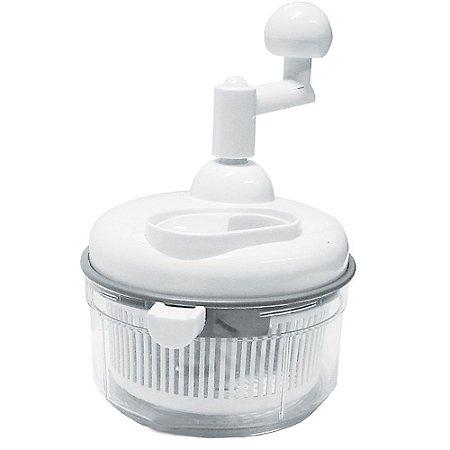 Fatiador Processador Manual De Alimentos e Seca Salada - 2 Em 1