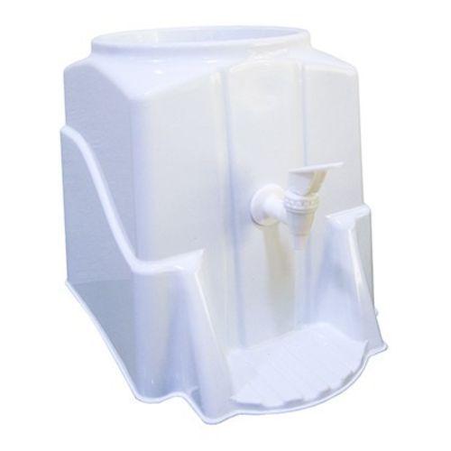 Suporte Galão De Água Mineral 10 E 20 Litros Com Suporte Copo Branco