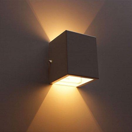 Arandela 2 Fachos Led Luminária Uso Interno e Externo Bivolt