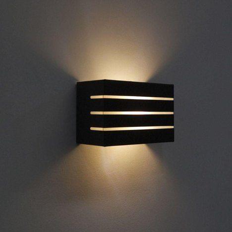 Arandela Frisada Led Luminária Para Ambientes Externo Bivolt