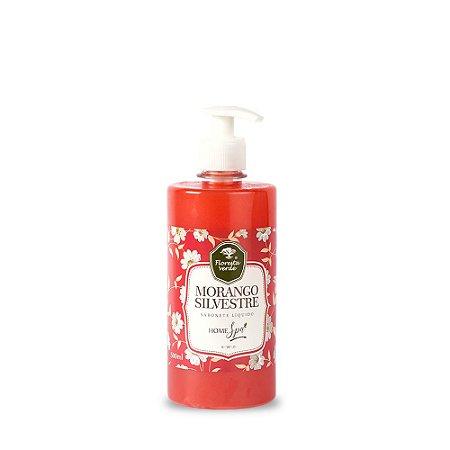 Sabonete Líquido - Morango Silvestre 500 ml *Por ora tampa FlipTop*