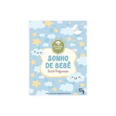 Sachê Perfumado - Aroma Sonho de bebê 10g