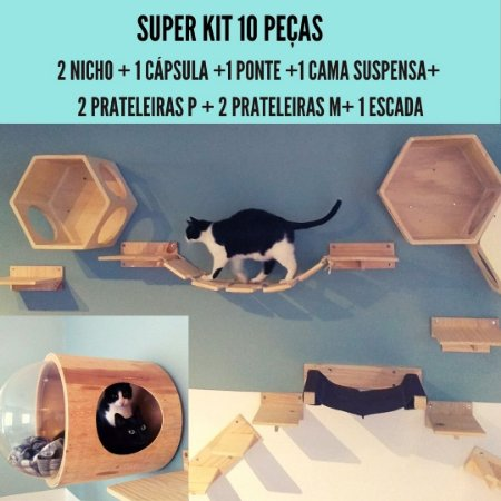 SUPER KIT 10 PEÇAS