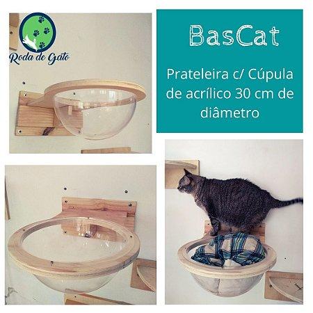 BASCAT - MINI PRATELEIRA C/ ACRÍLICO