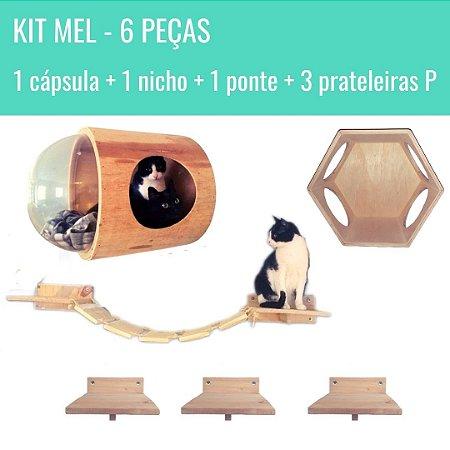 KIT MEL - 6 PEÇAS