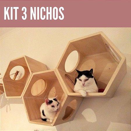 kit 3 Nichos