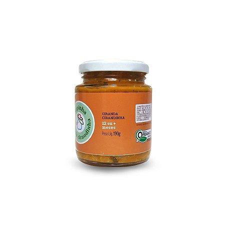 Papinha orgânica Ciranda - Frango com quinoa