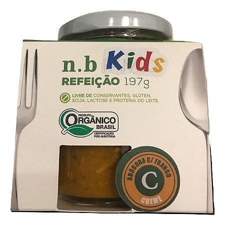 NB Kids Orgânica - Creme de Abóbora e frango