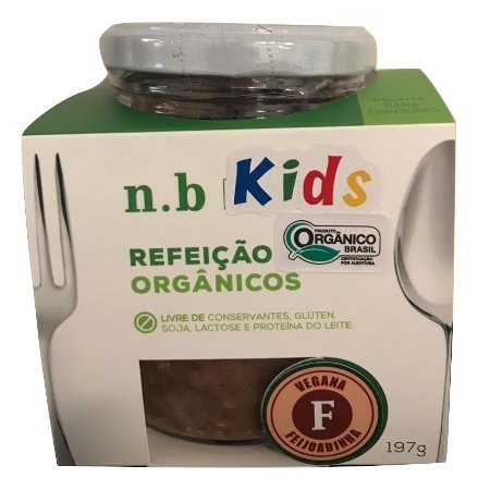 NB Kids Orgânica - Feijoadinha Vegana