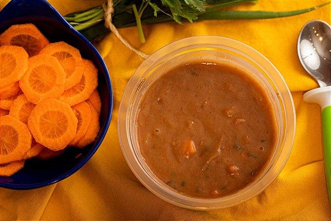 Sopinha cremosa de feijão com legumes - Sopimpa