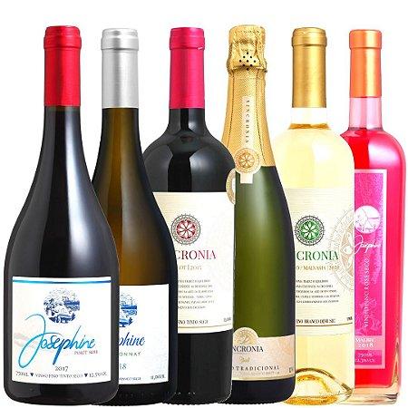 Kit vinhos de verão
