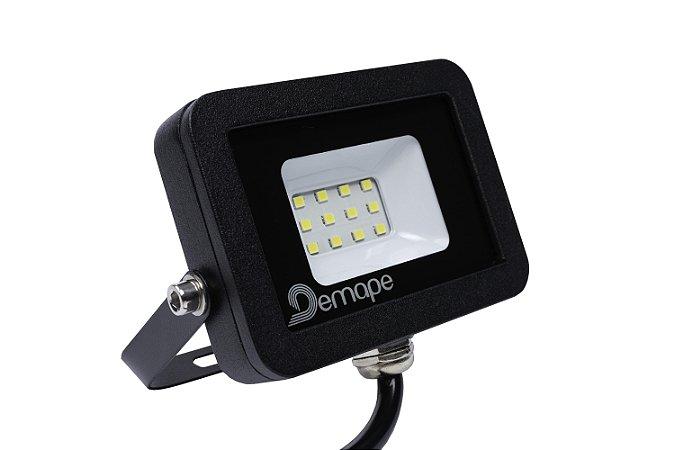 Refletor LED SMD 10W Branco Frio