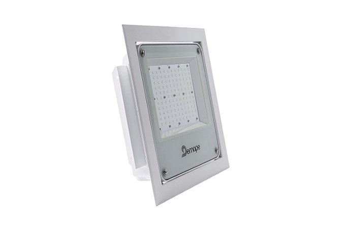 Luminária LED Posto de Combustível 100W 5000K