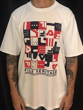 Camiseta Fila Oversize Heritage